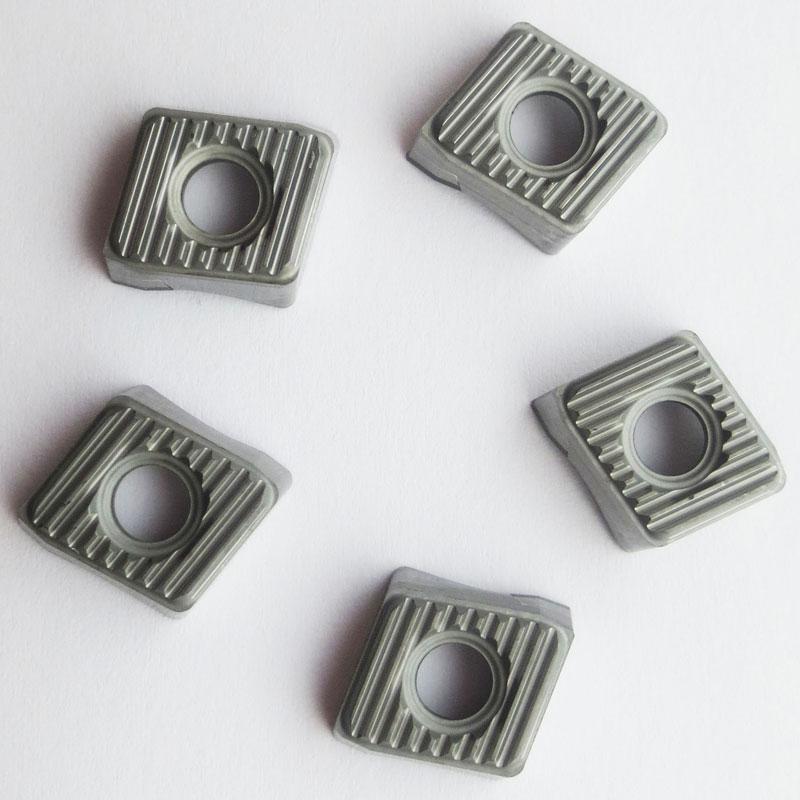Pack of 10 Sandvik Coromant U-Drill Carbide Drilling Insert 0.016 Corner Radius LCMX Style GC1020 Grade 0.094 Thick TiAlN Coating LCMX 02 02 04TC